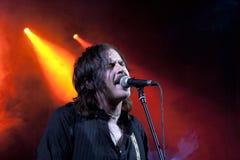 Jonny Kaplaan. Jonny Kaplan American rock singer in concert Royalty Free Stock Images