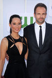 Jonny Lee Miller, Lucy Liu Photo libre de droits