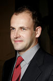 Jonny Lee Miller. WEST HOLLYWOOD, CALIFORNIA. December 1, 2005. Jonny Lee Miller attends the Wolrd Premiere of Aeon Flux at the Cinerama Dome in Hollywood Royalty Free Stock Image