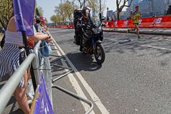 Jonny Mellor is running the London Marathon Stock Photography