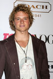 Jonny Weston. LOS ANGELES - SEPT 23:  Jonny Weston arriving at  the 9th Annual Teen Vogue Young Hollywood Party at the Paramount Studios on September 23, 2011 in Royalty Free Stock Photography