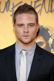 Jonny Weston. HOLLYWOOD, CA - AUGUST 20, 2015: Jonny Weston at the Los Angeles premiere of 'We Are Your Friends' held at the TCL Chinese Theatre in Hollywood Stock Image