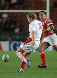 Jonny Wilkinson. Try a drop the qualification round of the Rugby World Cup 2007 between Tonga and England at the Parc des Prince on Spetember 28, 2007 in Paris Stock Photography