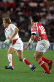 Jonny Wilkinson. During the qualification round of the Rugby World Cup 2007 between Tonga and England at the Parc des Prince on Spetember 28, 2007 in Paris Stock Photos