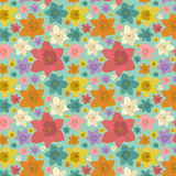 Jonquils pattern Stock Photography