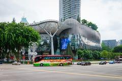 JONU sadu zakupy siedziby w Singapur i centrum handlowe Obraz Stock