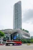 JONU sadu zakupy siedziby w Singapur i centrum handlowe Obrazy Royalty Free