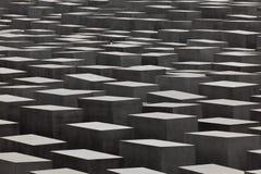 Joods Holocaustgedenkteken, Berlijn Duitsland Stock Afbeelding