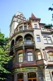 Joods Kwart in Praag stock afbeeldingen