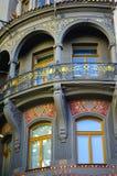 Joods Kwart in Praag royalty-vrije stock foto