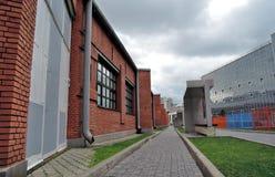 Joods Museum en Tolerantiecentrum in Moskou Stock Afbeelding