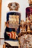 Joods symbool, vakantie rituele kleding Torah bij Bar mitswa 5 SEPTEMBER 2015 de V.S. Stock Foto's