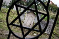 Joodse begraafplaats Royalty-vrije Stock Foto's
