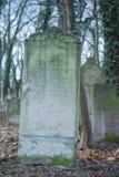 Joodse begraafplaats royalty-vrije stock fotografie