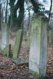 Joodse begraafplaats Stock Afbeelding