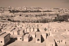Joodse begraafplaats stock fotografie