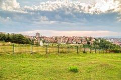 Joodse begraafplaats in Pristina Royalty-vrije Stock Fotografie