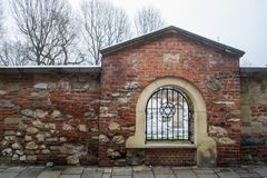 Joodse Cementary Krakau stock foto