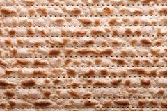Joodse matzah kosjer macro horizontale achtergrond Stock Fotografie