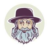 Joodse mens stock illustratie