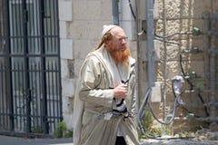 Joodse orthodoxe mens Stock Afbeelding