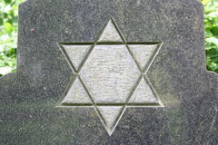 Joodse ster stock afbeelding