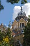 Joodse synagoge van Szeged royalty-vrije stock afbeeldingen