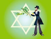 Joodse vakantie van Festival Sukkoth Royalty-vrije Illustratie