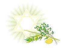 Joodse vakantie van Vakantie Sukkot Royalty-vrije Stock Foto's