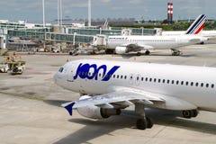 Joon飞机的图片 Joon S A S 是法国航空公司根据在巴黎的戴高乐机场 库存图片