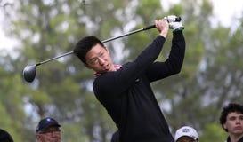 Joon Kim, am Golf beherrscht 13, 2013 stockbilder