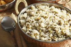 Joor-rawtee d'Oshi - un plat de riz d'Afghanistan Images stock