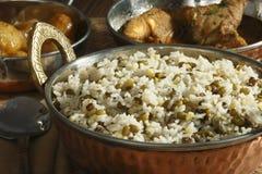 Joor-rawtee d'Oshi - un plat de riz d'Afghanistan Photos libres de droits