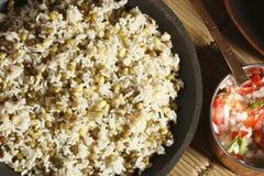 Joor-rawtee Oshi - блюдо риса от Афганистана Стоковая Фотография RF