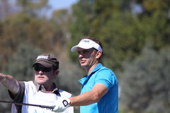 Joost Luiten at Andalucia Golf Open, Marbella Royalty Free Stock Images