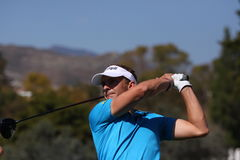 Joost Luiten at Andalucia Golf Open, Marbella Stock Photo