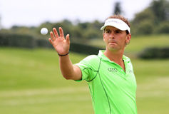 Joost Luiten bij het Franse golf opent 2013 Stock Foto's