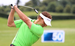 Joost Luiten at The French golf Open 2013 Royalty Free Stock Images