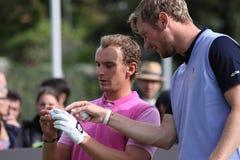 Joost Luiten at The Seve Trophy 2013 Stock Image