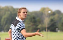 Joost Luiten, taza del golf de Vivendi, sept. de 2010 Foto de archivo libre de regalías