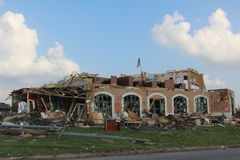 Joplin, MES, tornado del daño EF5 imagenes de archivo