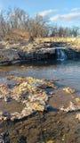 Joplin Missouri Christina Farino Waterfall i vår arkivfoton