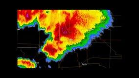 2011 Joplin, Missouri Tornado Weather Radar