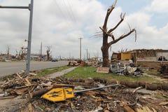 Joplin, MO, furacão de dano EF5 fotos de stock royalty free