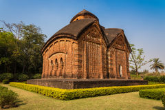 Jorbangla寺庙 免版税图库摄影