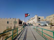 Jordânia, viagem ao castelo de Karak foto de stock