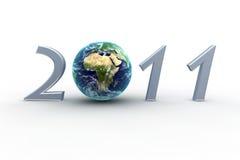 jord 2011 Arkivbild