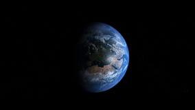 jord photoreal Europa Royaltyfri Bild