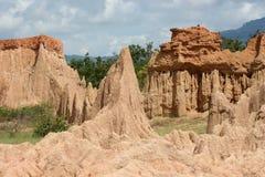 Jord Pole underbara Nan, Thailand Royaltyfria Bilder
