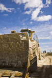 Jord som flyttar Digger Bucket arkivfoton